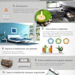 10 consejos de decoración Feng Shui de Menamobel para el dormitorio