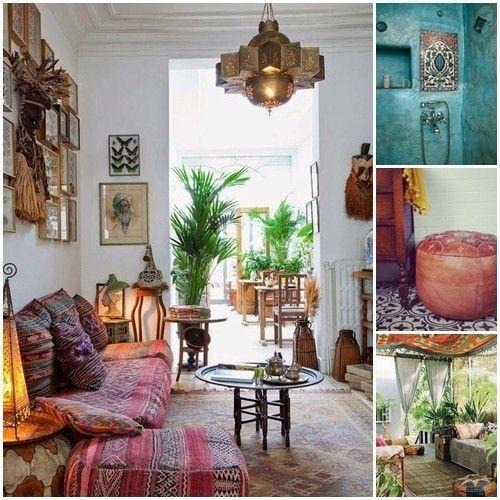 20 ideas para una decoración árabe bohemia 11