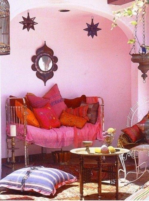 20 ideas para una decoración árabe bohemia 4