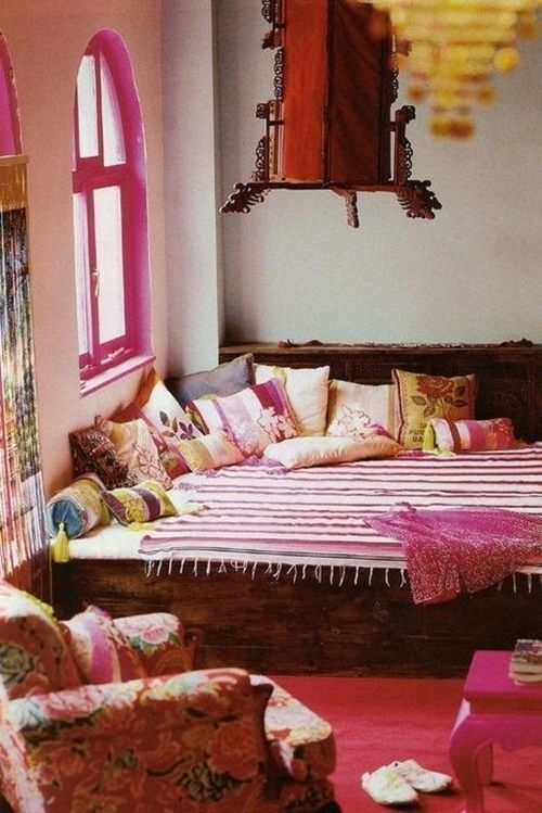 20 ideas para una decoraci n rabe bohemia de las mil y for Decoracion estilo arabe