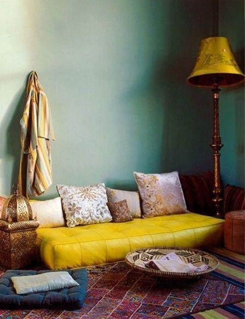20 ideas para una decoración árabe bohemia 7
