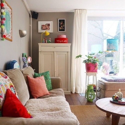 Casas con encanto colorido estilo entre boho y escandinavo 1
