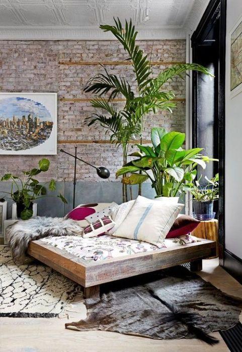 Los 25 rincones con plantas de interior más bellos de Pinterest 7