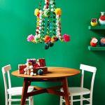 Decoración navideña original con (algunos) objetos inusuales 1