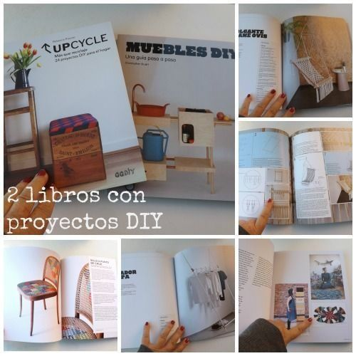 Ideas para reciclar y proyectos de decoraci n diy en 2 geniales libros decomanitas - Decoracion reciclaje interiores ...