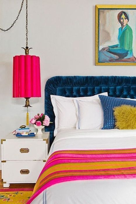 Los 25 dormitorios de estilo boho chic más bellos de Pinterest 10