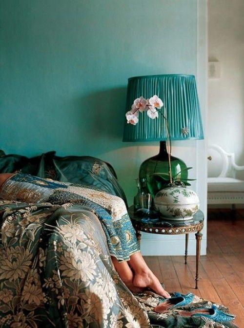 Los 25 dormitorios de estilo boho chic más bellos de Pinterest 21