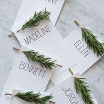 15 Ideas de decoración eco-chic para mesas de Navidad2