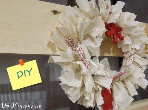 Manualidades navide as c mo hacer una corona de adviento diy decomanitas - Como hacer coronas navidenas ...