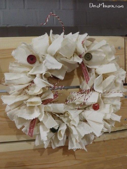 Manualidades navide as c mo hacer una corona de adviento - Como decorar la corona de adviento ...