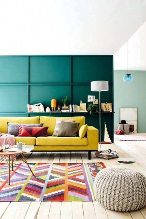 Colores para paredes intensos, y pintar la casa con drama... 3