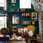 """Colores para paredes intensos (o ser audaz y pintar la casa con """"drama"""")"""