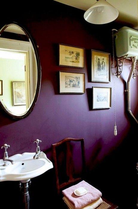 Colores para paredes intensos, y pintar la casa con drama... 18