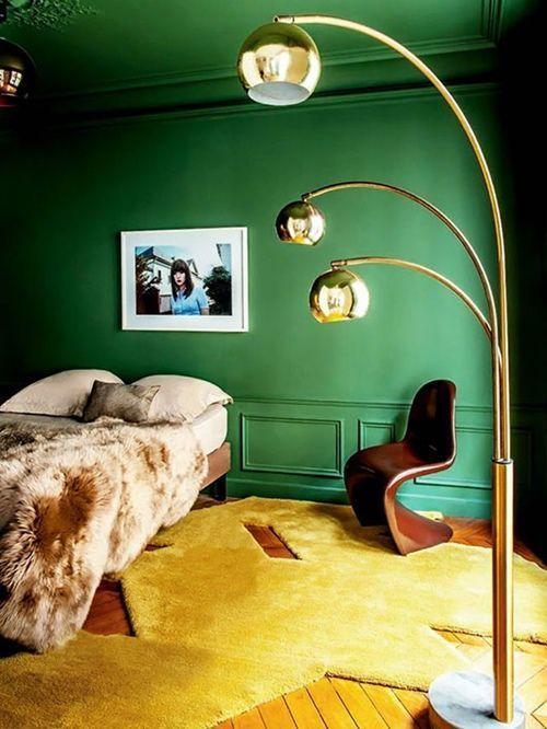 Colores para paredes intensos o ser audaz y pintar la casa con drama2