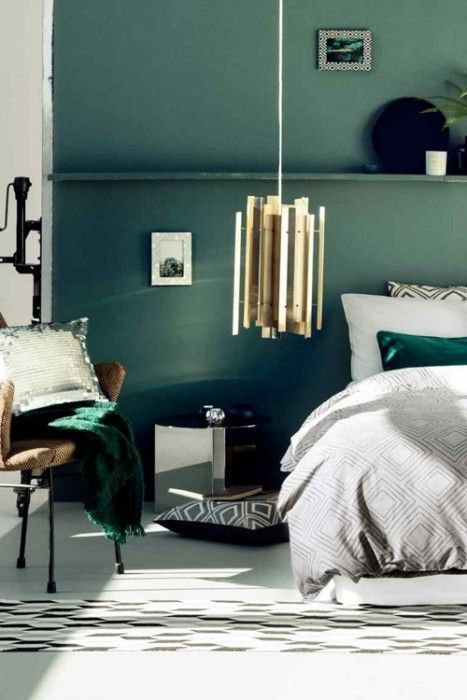 Colores para paredes intensos, y pintar la casa con drama... 14