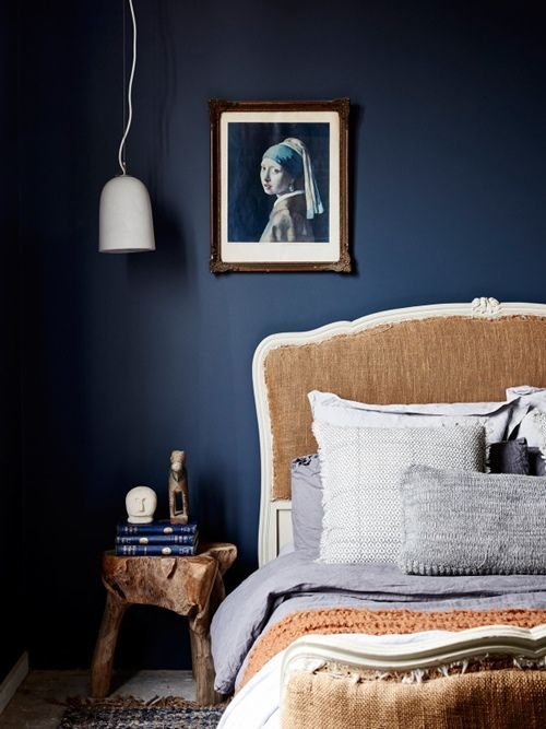 Colores para paredes intensos o ser audaz y pintar la casa con drama4