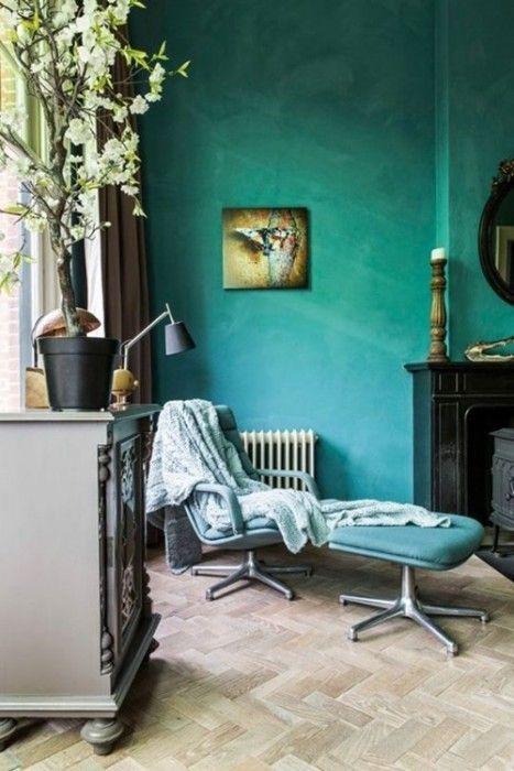Colores para paredes intensos, y pintar la casa con drama... 11