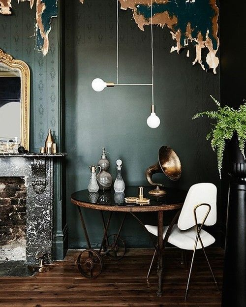 Colores para paredes intensos, y pintar la casa con drama... 10