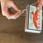Manualidades originales estrella con cerillas de madera tipo navajo 5