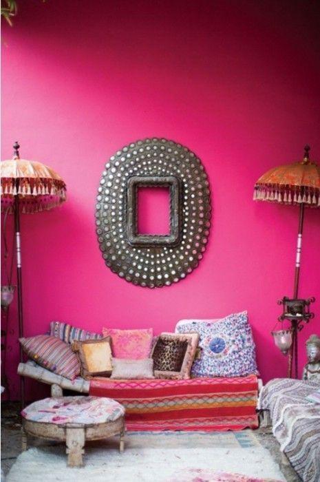 Colores para paredes intensos, y pintar la casa con drama... 17