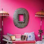 Paredes con colores intensos o ser audaz y pintar la casa con drama 19