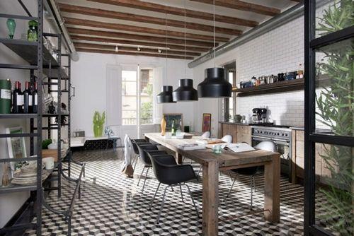 Casas con encanto vivir junto a un mercado tradicional en Barcelona2