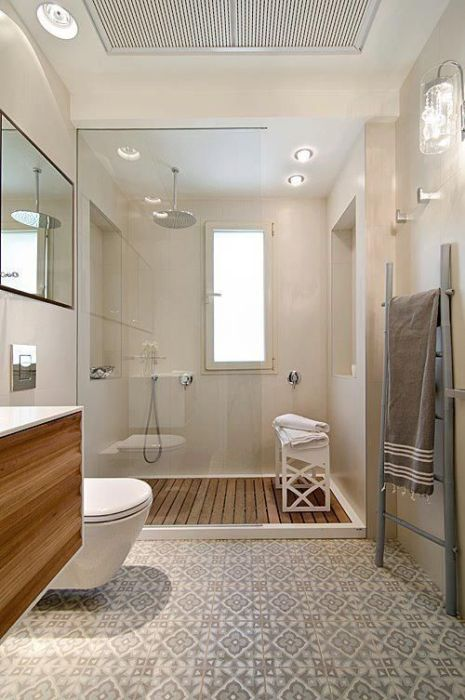 Cuartos de baño vintage con ducha que te inspiran para decorar el tuyo