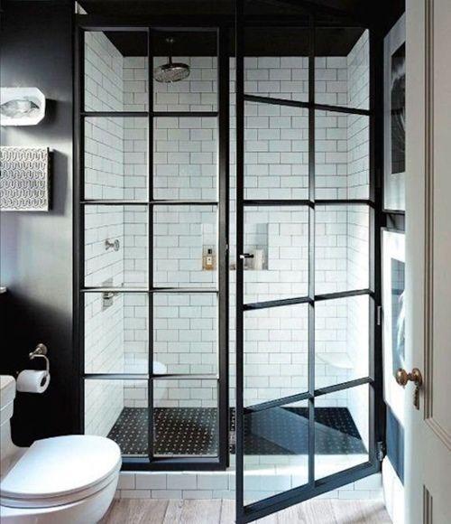 12 cuartos de baño con ducha de estilo vintage 9