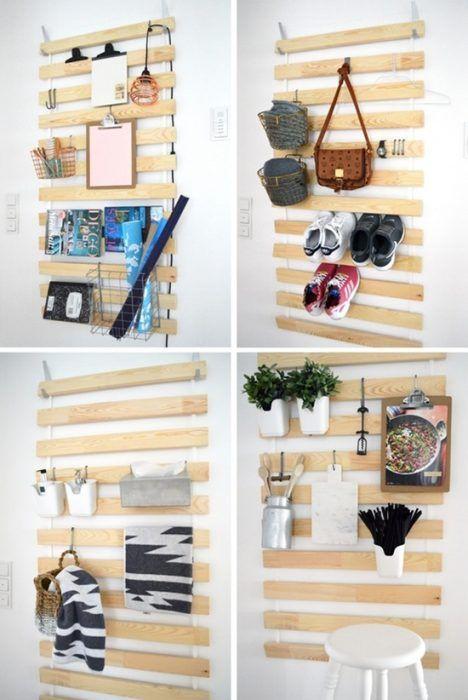 tunear muebles ikea 5 ideas originales con un somier de lamas decomanitas. Black Bedroom Furniture Sets. Home Design Ideas