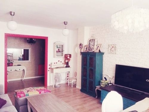Casas con encanto piso pequeño con decoración boho chic singular 1