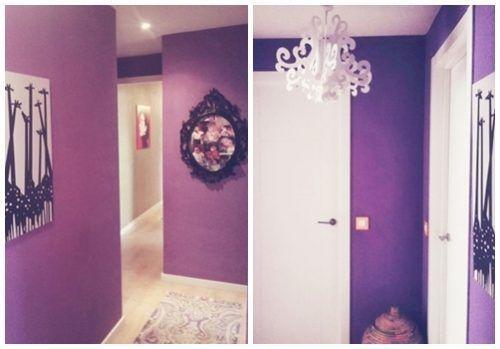 Casas con encanto piso pequeño con decoración boho chic singular 17