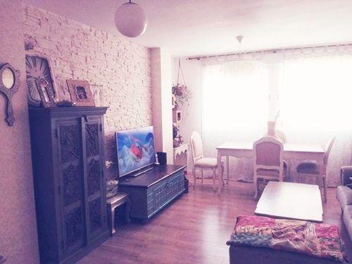 Casas con encanto piso pequeño con decoración boho chic singular 2