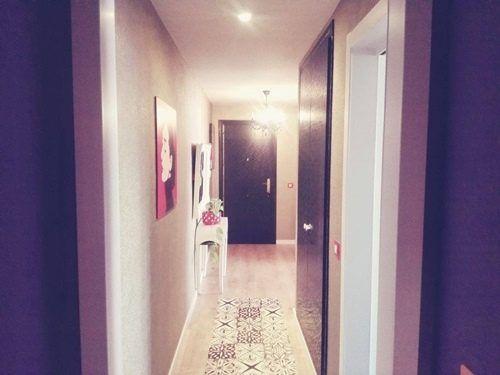 Casas con encanto piso pequeño con decoración boho chic singular 20