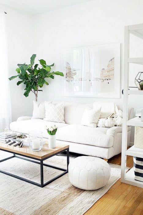 Colores para paredes c mo pintar un apartamento moderno - Como pintar un salon moderno ...