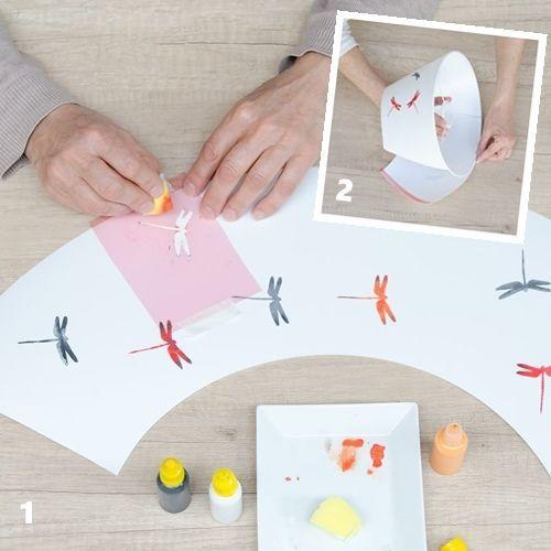Cómo hacer una lámpara fácil en casa con un kit DIY 2
