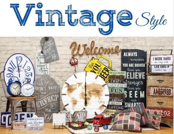 Decoraci n vintage decomanitas for Decoracion hogar online