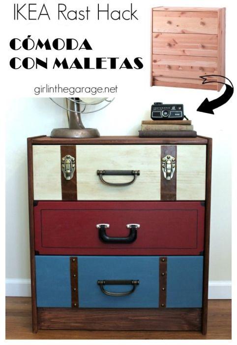 Tunear muebles de ikea decomanitas for Decoracion muebles vintage