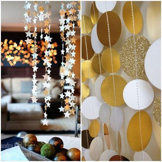 Ideas para decorar con glamour una fiesta en casa - Para decorar fiestas ...