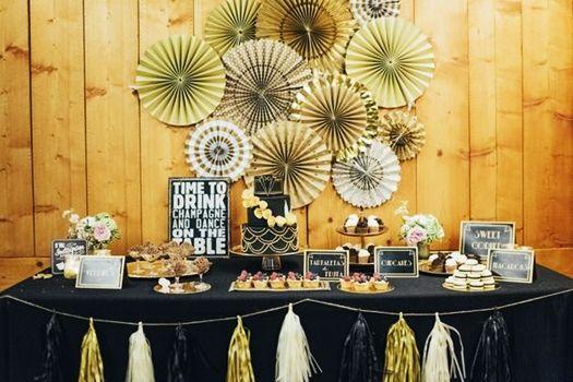 Ideas para decorar con glamour una fiesta en casa - Decoracion cumpleanos adultos en casa ...