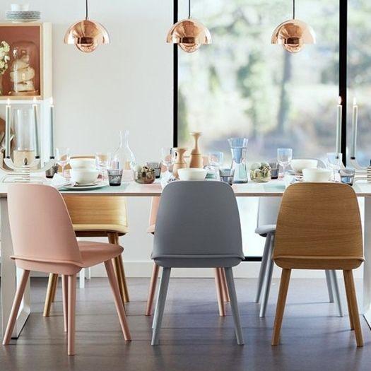 C mo elegir sillas de sal n ideales para cada estilo de for Sillas salon diseno
