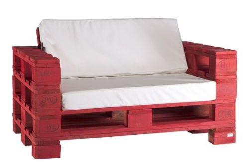 Original modelo de sofá hecho con palets de Itepal Design.