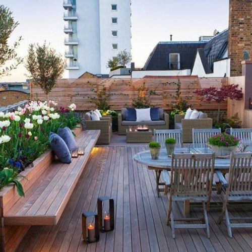 10 ideas para decorar terrazas de ticos como un for Ideas para decorar una terraza exterior
