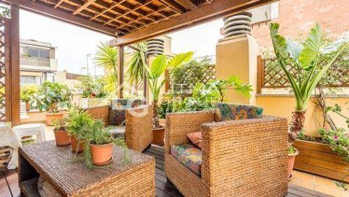 10 ideas para decorar terrazas de ticos para sacarles m s - Atico terraza barcelona ...