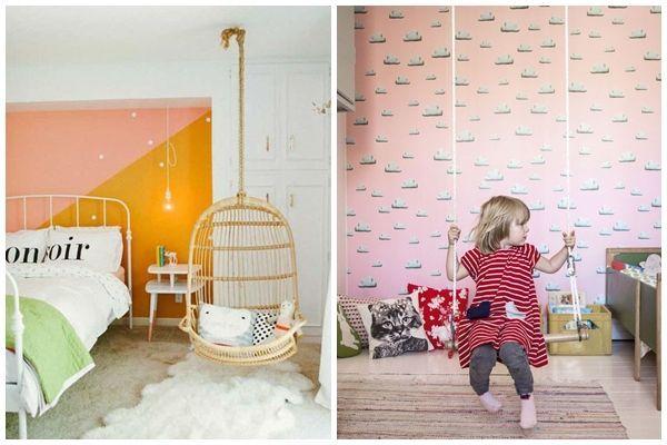 Ideas para decorar habitaciones infantiles originales con for Sillas para habitaciones