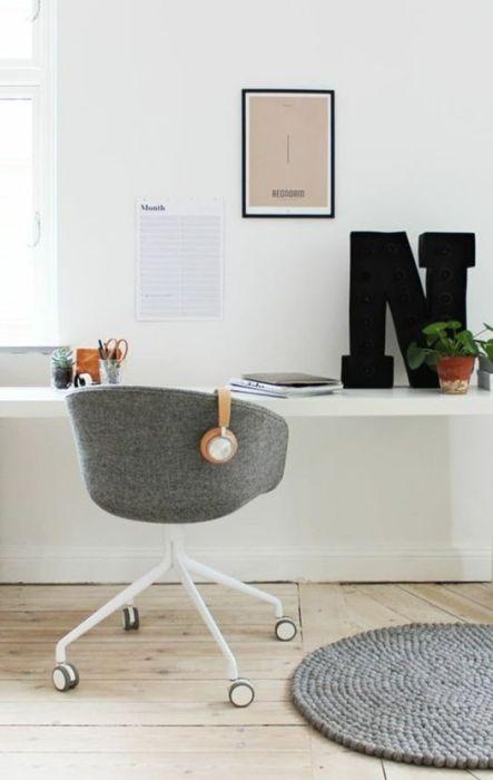 Sillas de oficina con estilo y acordes a las nuevas tendencias en diseño.