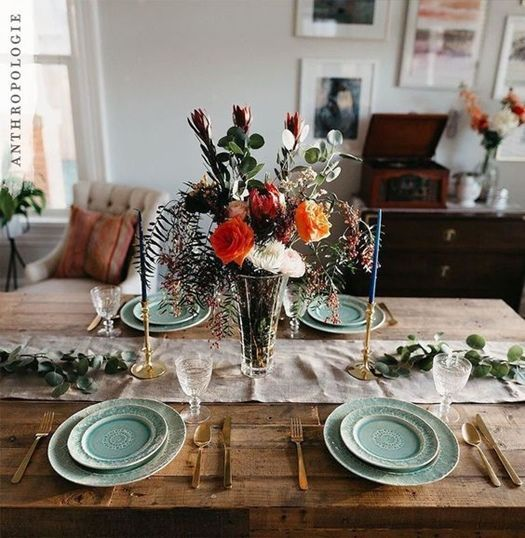 12 Mesas De Comedor Decoradas Para Navidad Y Otras Fechas Especiales - Mesas-de-navidad-decoradas