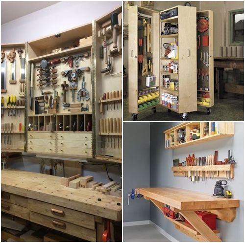 Consejos para ordenar herramientas de bricolaje en casa - Hacer bricolaje en casa ...