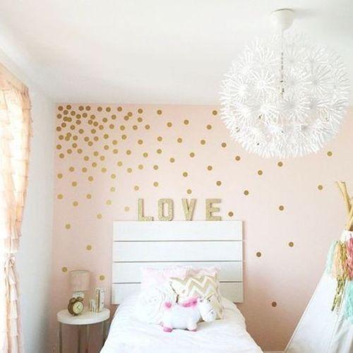 Pegatinas para decorar habitaciones infantiles con una composición tipo punto de fuga.