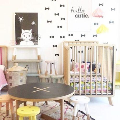 10 ideas creativas para decorar habitaciones infantiles decomanitas - Pegatinas para decorar ...