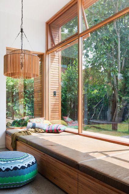Una de las ventajas de las ventanas de aluminio es la opción de elegir color y acabado del marco.